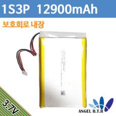 [리튬폴리머배터리]PR-626194N 3.7v 12900mah 3.7v12900mah/48Wh/1s3p 하네스5핀