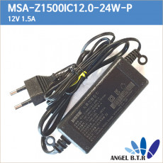 [moso]msa-z1500ic12.0-24w-p 12v1.5a/12v 1.5a/코드/코드 cctv /각종전원기기 아답터