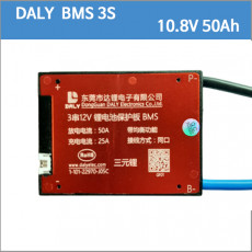 DALY 리튬이온 배터리 BMS 3S 50Ah 3S50Ah 10.8V 11.1V 12.6V 12.8v 12v BMS 보호회로