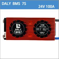 DALY 리튬이온 배터리 BMS 7S 100A 7S100Ah 24V100A/24V 100A/29.4V100A/29.4V 100A  BMS 보호회로